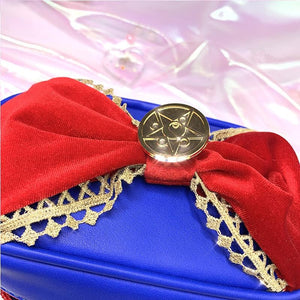Sailor Moon Lace Bow Storage Cosmetic Bag SP14355 - SpreePicky FreeShipping