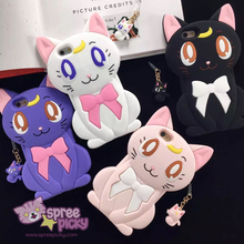 Load image into Gallery viewer, Sailor Moon Luna Cat Phone Case SP166425