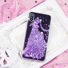 Load image into Gallery viewer, Sailor Moon Serenity Quicksand Liquid Glitter Phone Case  SP1812509