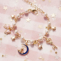 Sailor Moon Star Kitty Bow Bracelet S13158