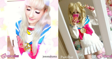 [M/XL]Sailor Moon Sweater Fleece Jumper SP130203 - SpreePicky  - 2