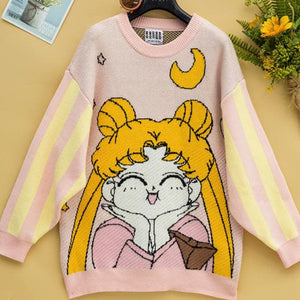 Sailor Moon Sweet Heart Sweater SP14376