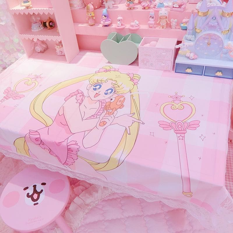 Sailor Moon Wand Lace Table Cover SP13713