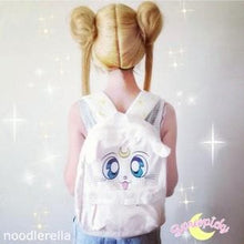 Load image into Gallery viewer, Sailor Moon Artemis Fluffy Plush Backpack SP140506 - SpreePicky  - 1