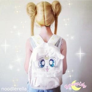 Sailor Moon Artemis Fluffy Plush Backpack SP140506 - SpreePicky  - 1