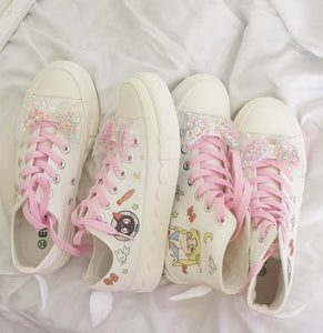 Sailor Moon Wings Canvas Shoes SP14370