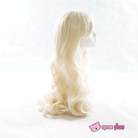 Cosplay Kagerou Project Sakura Jasmine Pastel Gold Long Wave Wig SP151700 - SpreePicky  - 2