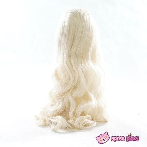 Cosplay Kagerou Project Sakura Jasmine Pastel Gold Long Wave Wig SP151700 - SpreePicky  - 3