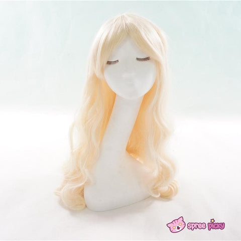 Cosplay Kagerou Project Sakura Jasmine Pastel Gold Long Wave Wig SP151700 - SpreePicky  - 1