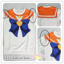 Load image into Gallery viewer, [Special Sale] [Spree Picky Design] Super Sailor Venus Defective Printing Sweatershirt SP151646 - SpreePicky  - 1