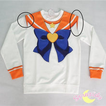 Load image into Gallery viewer, [Special Sale] [Spree Picky Design] Super Sailor Venus Defective Printing Sweatershirt SP151646 - SpreePicky  - 2