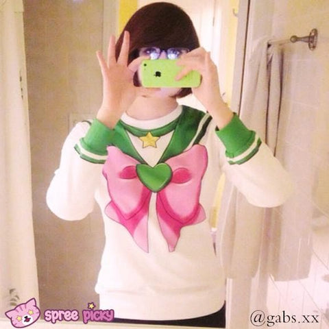 [Spree Picky Design] Sailor Moon Series Sweatershirt - SpreePicky  - 5