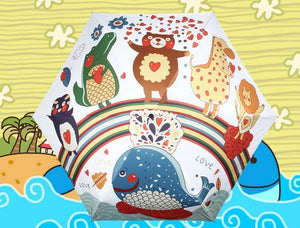 Kawai Cartoon Printing Umbrella SP179772