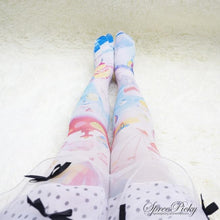 Load image into Gallery viewer, Helium Balloons Cartoons Printing Tights SP140396 - SpreePicky  - 4