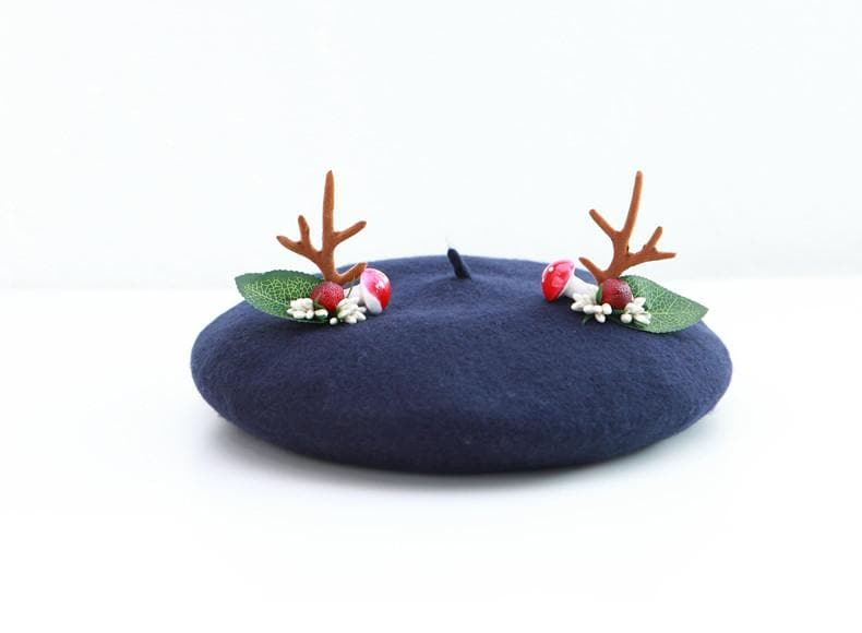 5 Colors Kawaii Deer Beret SP179839