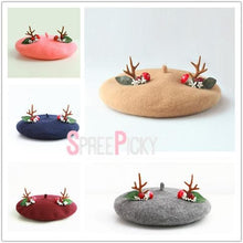 Load image into Gallery viewer, 5 Colors Kawaii Deer Beret SP179839