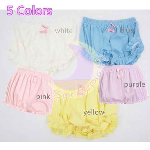 5 Colors Kawaii Girly Ice-Cream Shorts Pants Bloomer SP141405 - SpreePicky  - 1