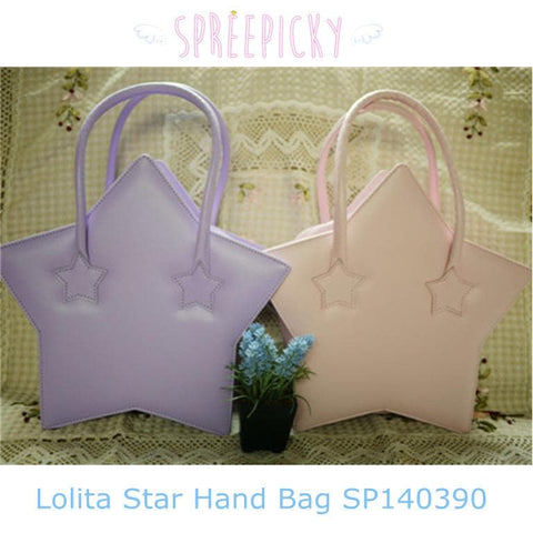 [5 Colors] Lolita Lovely Dream Star Hand Bag SP140390 - SpreePicky  - 1