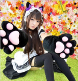 Adorable Cosplay Cat Kitty Neko Paw Gloves For Maid Custom Props Tool  SP141193 - SpreePicky  - 1