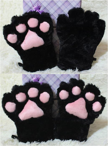 Adorable Cosplay Cat Kitty Neko Paw Gloves For Maid Custom Props Tool  SP141193 - SpreePicky  - 2