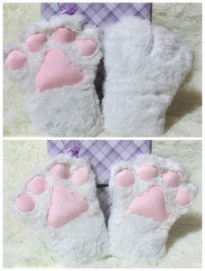 Adorable Cosplay Cat Kitty Neko Paw Gloves For Maid Custom Props Tool  SP141193 - SpreePicky  - 3