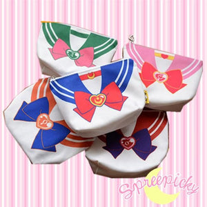 [6 Colors] Adorable [Sailor Moon] Seifuku Canvas Storage Bag SP141307 - SpreePicky  - 1