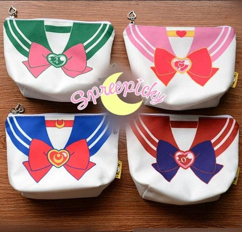 [6 Colors] Adorable [Sailor Moon] Seifuku Canvas Storage Bag SP141307 - SpreePicky  - 4