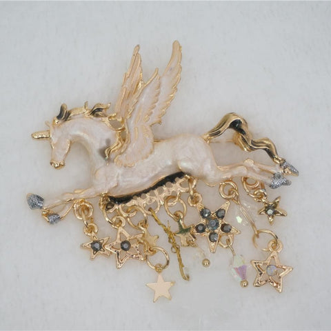 Adorable Unicorn Brooch SP141167 - SpreePicky  - 1