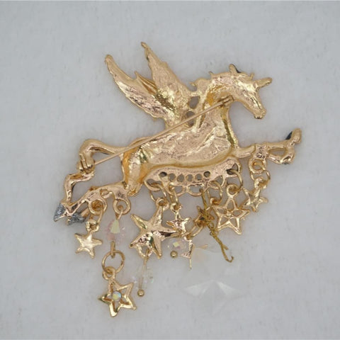 Adorable Unicorn Brooch SP141167 - SpreePicky  - 2