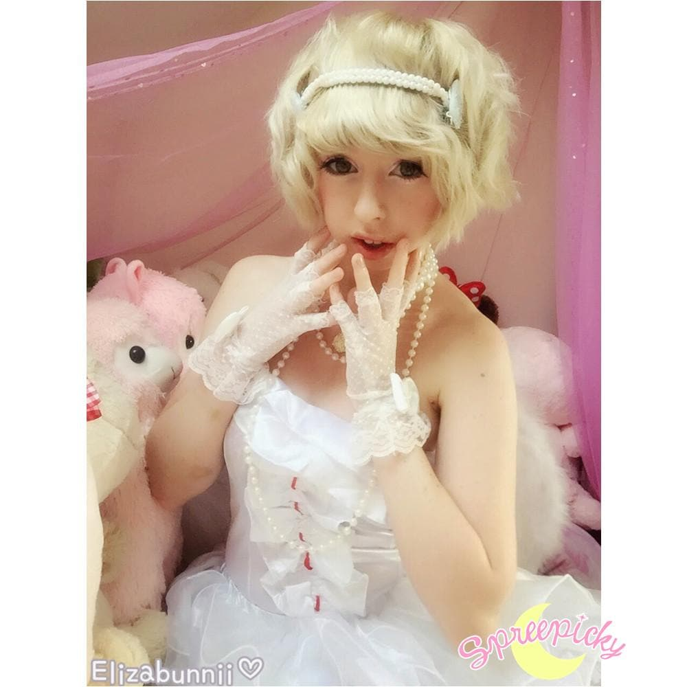 Angel Fairy With Wings White Flufy Dress SP141214 - SpreePicky  - 1