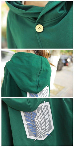 Attack On Titan Cosplay Freedom Wings Cape SP140516 - SpreePicky  - 4