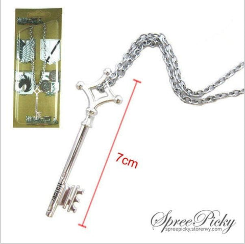 Attack On Titan Eren's Basement Key Necklace SP140378 - SpreePicky  - 5