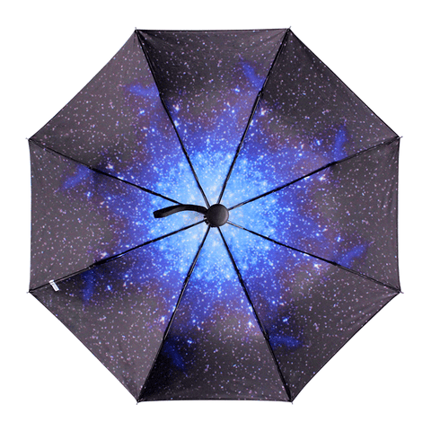 Black/Blue Galaxy Night Umbrella SP179887