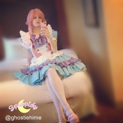 Cheaper Version [M-XL] Lolita Kawaii Princess Maid Dress SP140859 - SpreePicky  - 2