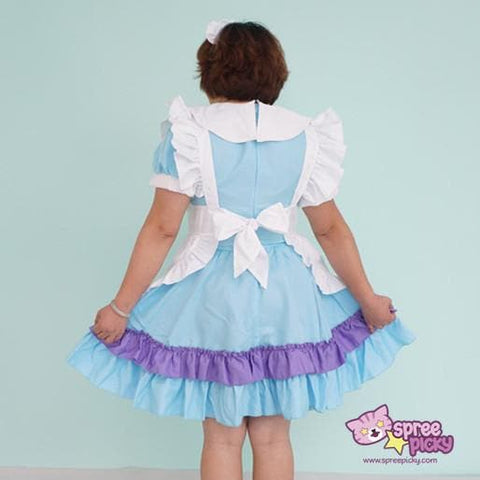 Cheaper Version [M-XL] Lolita Kawaii Princess Maid Dress SP140859 - SpreePicky  - 5