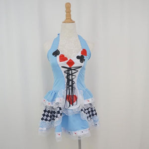 Cosplay Alice In Wonderland Poker Dress SP141067 - SpreePicky  - 2