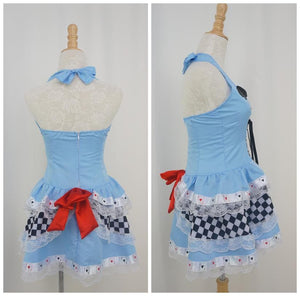 Cosplay Alice In Wonderland Poker Dress SP141067 - SpreePicky  - 3
