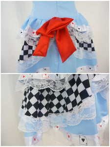 Cosplay Alice In Wonderland Poker Dress SP141067 - SpreePicky  - 4