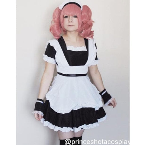 Cosplay Roromiya Karuta Black Maid Dress Set SP141231 - SpreePicky  - 3