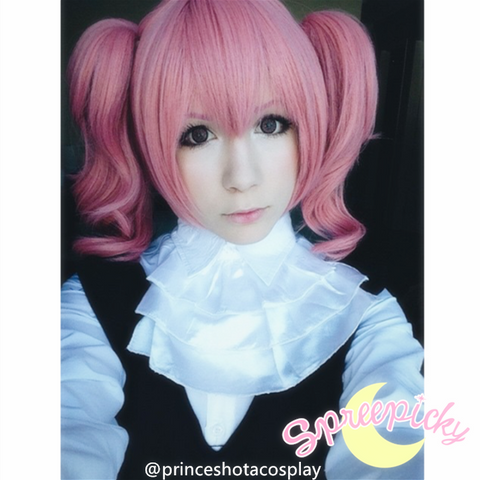 Cosplay Roromiya Karuta Lolita Pink Wig With Two Pony Tails Sp141235 - SpreePicky  - 2