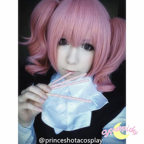 Cosplay Roromiya Karuta Lolita Pink Wig With Two Pony Tails Sp141235 - SpreePicky  - 3