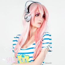 Load image into Gallery viewer, Cosplay Super Sonico Pale Pink Long Wig  SP141223 - SpreePicky  - 2