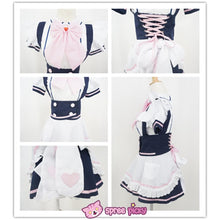 Load image into Gallery viewer, Custom Made Cosplay Uniform Maid Dress SP141213 - SpreePicky  - 5
