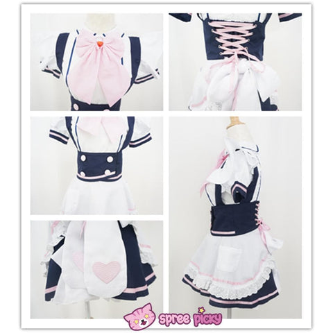 Custom Made Cosplay Uniform Maid Dress SP141213 - SpreePicky  - 5