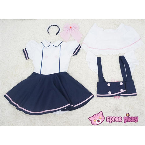 Custom Made Cosplay Uniform Maid Dress SP141213 - SpreePicky  - 6