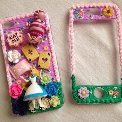 the latest 3015f 9b812 [Custom Made] Creamy Handmade Alice in Wonderland for All Phone Case  SP140864