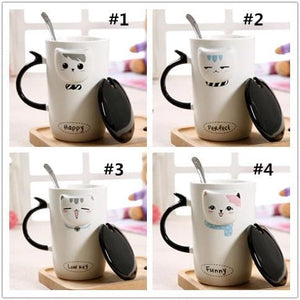 Creative Kitty Cat Ceramic Mug SP1711099