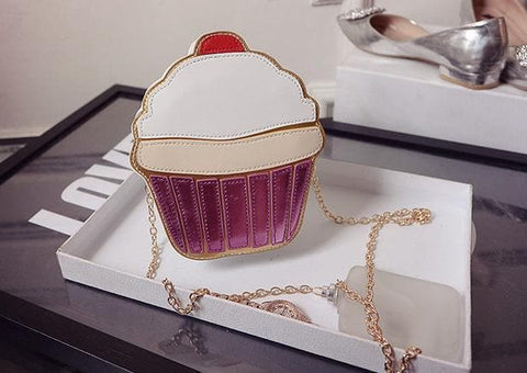 Cupcake Ice-cream Shoulder Bag SP152314 - SpreePicky  - 5
