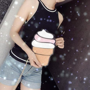 Cupcake Ice-cream Shoulder Bag SP152314 - SpreePicky  - 6