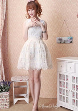 Load image into Gallery viewer, Floral Lace Organza Bubble Dress SP140584 - SpreePicky  - 4